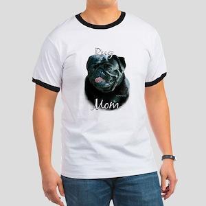 Pug Mom2 Ringer T