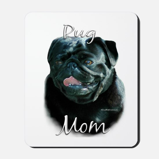Pug Mom2 Mousepad