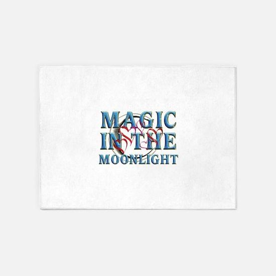 Magic in the Moonlight 5'x7'Area Rug