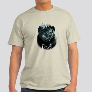 Pug Dad2 Light T-Shirt