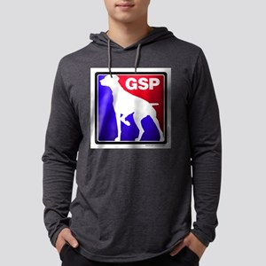 gsp-redandblue Long Sleeve T-Shirt