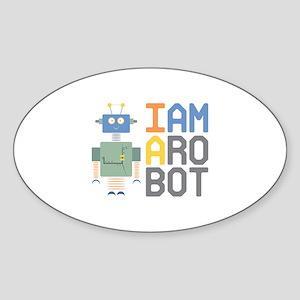 I Am A Robot Sticker