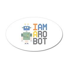 I Am A Robot Wall Decal
