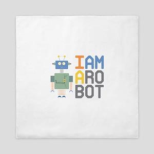I Am A Robot Queen Duvet