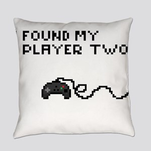 I found my Player Two Everyday Pillow