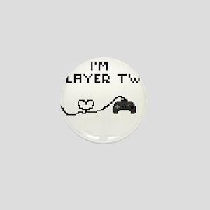 I'm Player Two Mini Button