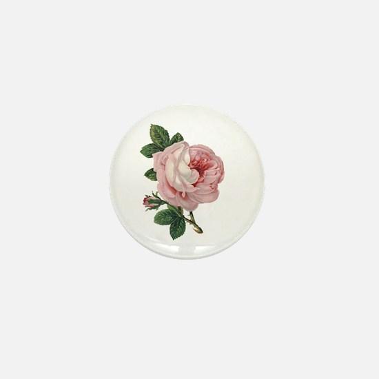 Elegant rose Mini Button