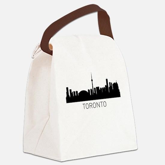 Toronto Ontario Cityscape Canvas Lunch Bag