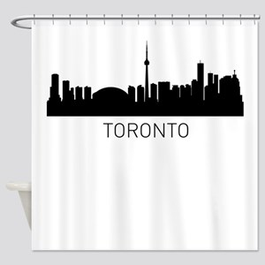 Toronto Ontario Cityscape Shower Curtain