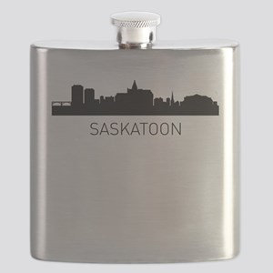 Saskatoon Saskatchewan Cityscape Flask