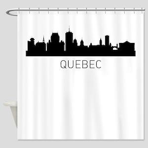 Quebec City Cityscape Shower Curtain