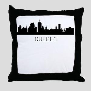 Quebec City Cityscape Throw Pillow