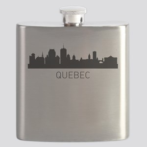 Quebec City Cityscape Flask