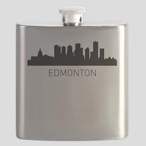 Edmonton Alberta Cityscape Flask