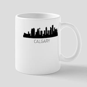 Calgary Alberta Cityscape Mugs