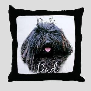 Puli Dad2 Throw Pillow