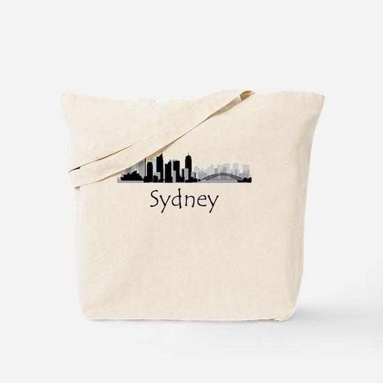 Sydney Australia Cityscape Tote Bag