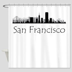 San Francisco California Cityscape Shower Curtain