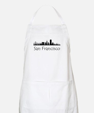 San Francisco California Cityscape Apron