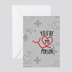 You're My Person Greeting Cards