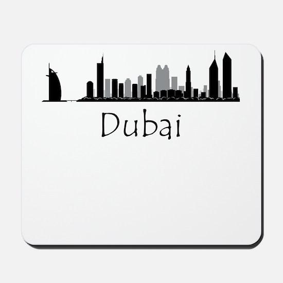 Dubai Cityscape Mousepad