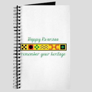 Happy Kwanzaa Journal