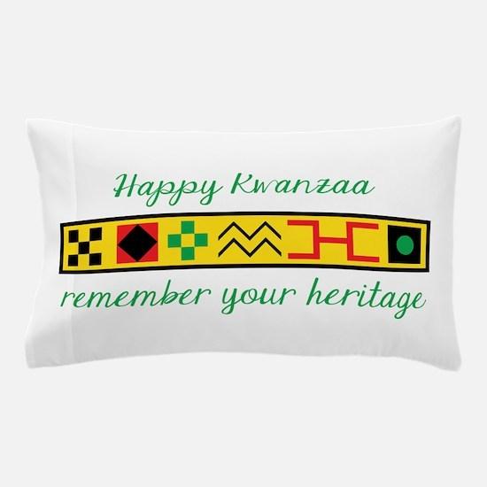 Happy Kwanzaa Pillow Case