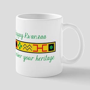 Happy Kwanzaa Mugs
