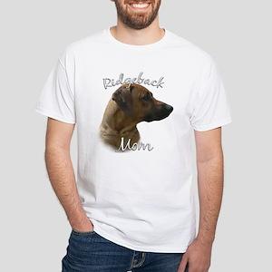 Ridgeback Mom2 White T-Shirt
