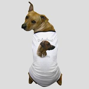 Ridgeback Mom2 Dog T-Shirt
