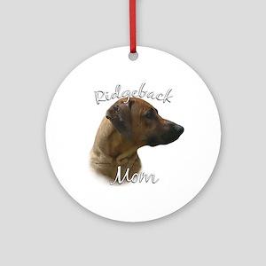 Ridgeback Mom2 Ornament (Round)