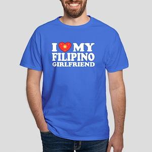 I Love my Filipino Girlfrien Dark T-Shirt