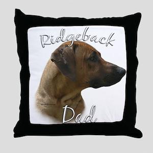 Ridgeback Dad2 Throw Pillow