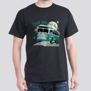 The Honeymooners: Away We Go Dark T-Shirt