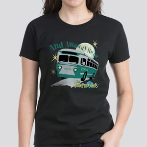 The Honeymooners: Away We Go Women's Dark T-Shirt
