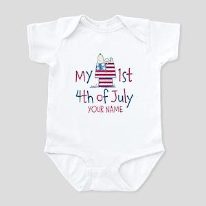 Snoopy - My 1st Fourth Infant Bodysuit