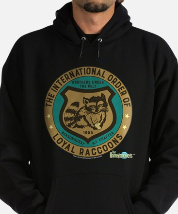 The Honeymooners: Loyal Raccoons Hoodie (dark)