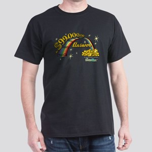 The Honeymooners: Rainbow Design Dark T-Shirt