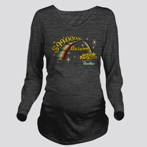 The Honeymooners: Ra Long Sleeve Maternity T-Shirt