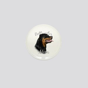 Rottweiler Mom2 Mini Button