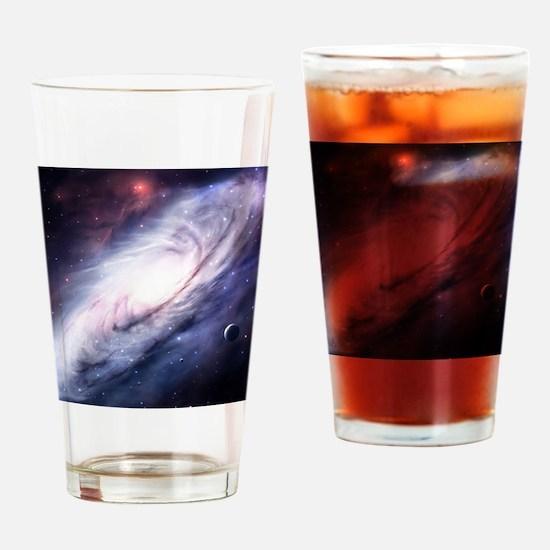 Milky Way Drinking Glass
