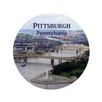 """Pittsburgh 3.5"""" Button (100 pack)"""
