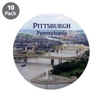 """Pittsburgh 3.5"""" Button (10 pack)"""