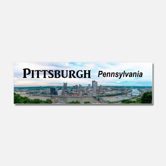 Pittsburgh Car Magnet 10 x 3