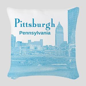 Pittsburgh Woven Throw Pillow