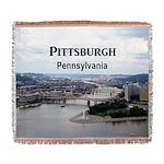Pittsburgh Woven Blanket