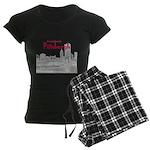 Pittsburgh Women's Dark Pajamas