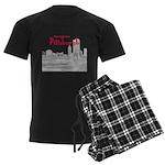 Pittsburgh Men's Dark Pajamas