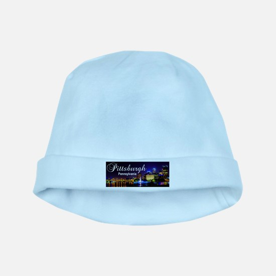 Pittsburgh baby hat