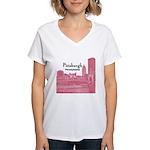Pittsburgh Women's V-Neck T-Shirt